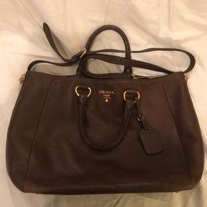 Leather Prada Tote